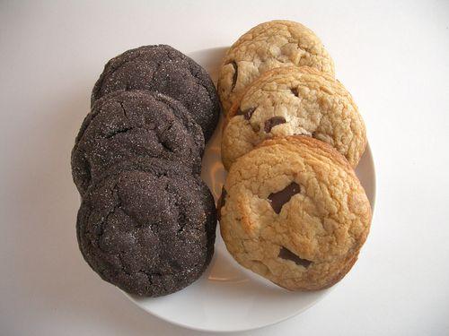 Twochocchipcookies