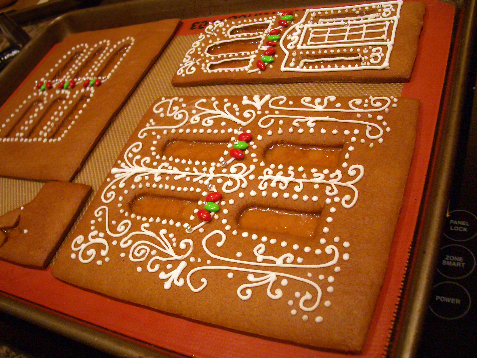 Gingerbread House 2011 Goodies By Anna