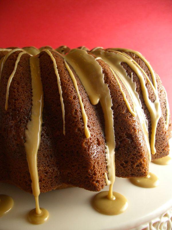 Pecan Bourbon Bundt Cake - Goodies By Anna