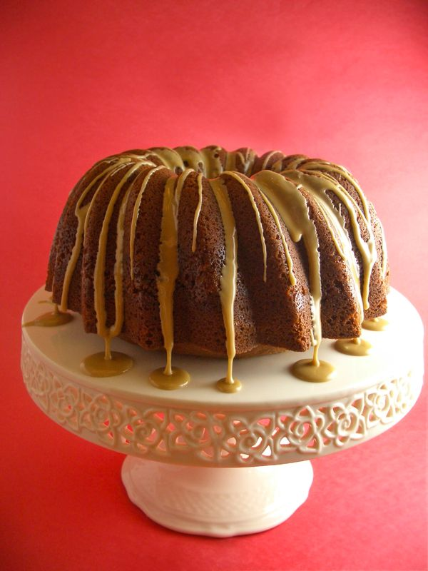 Pecan Bourbon Bundt Cake - Goodies By Anna