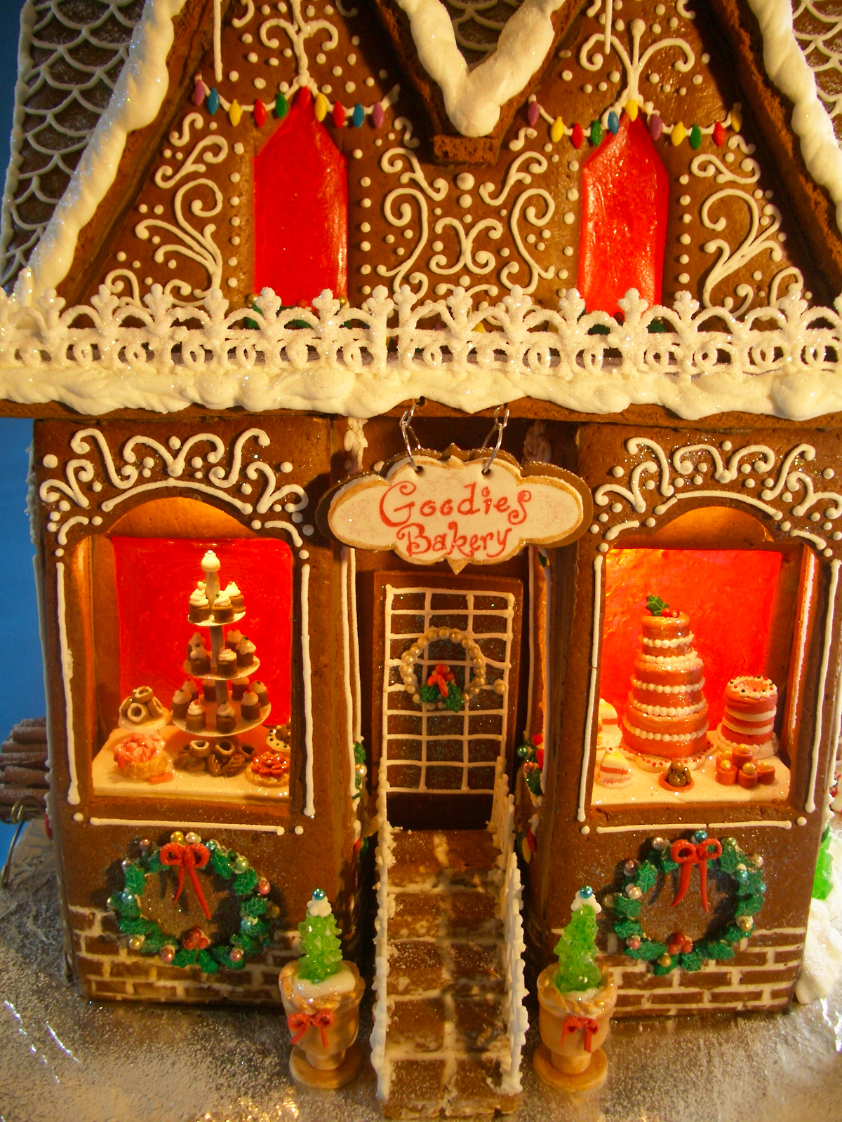 Gingerbread House 2012 - Goodies Bakery! - Goodies By Anna