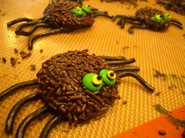 Spooky Stained Glass Sugar Cookie Spider Webs & Spiders - Goodies By ...