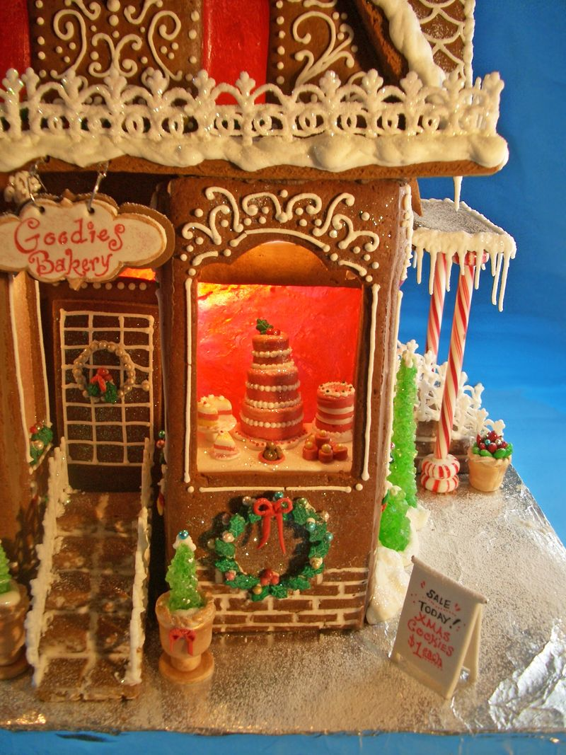 Gingerbread House 2012 Goodies Bakery Goodies By Anna