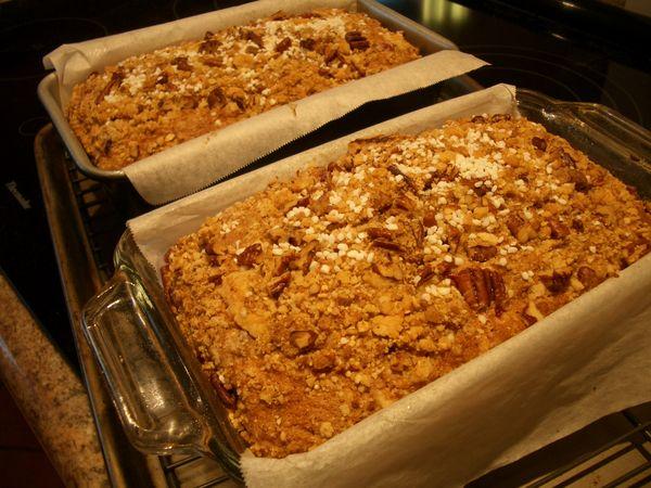 Cranberry, Orange, Pecan Coffee Cake - Goodies By Anna