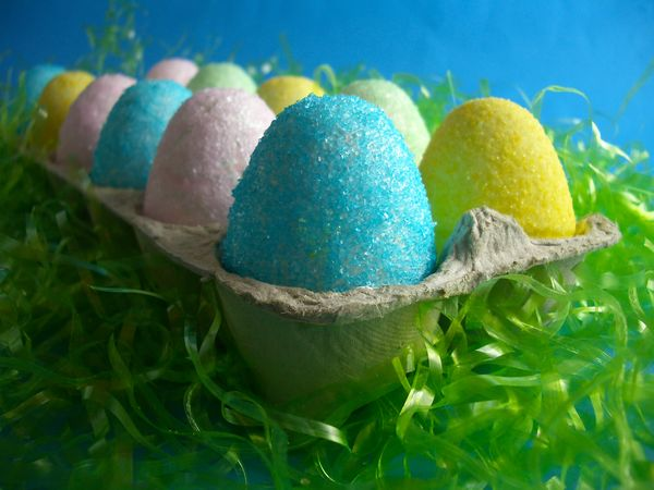Homemade Marshmallow Easter Eggs - Goodies By Anna