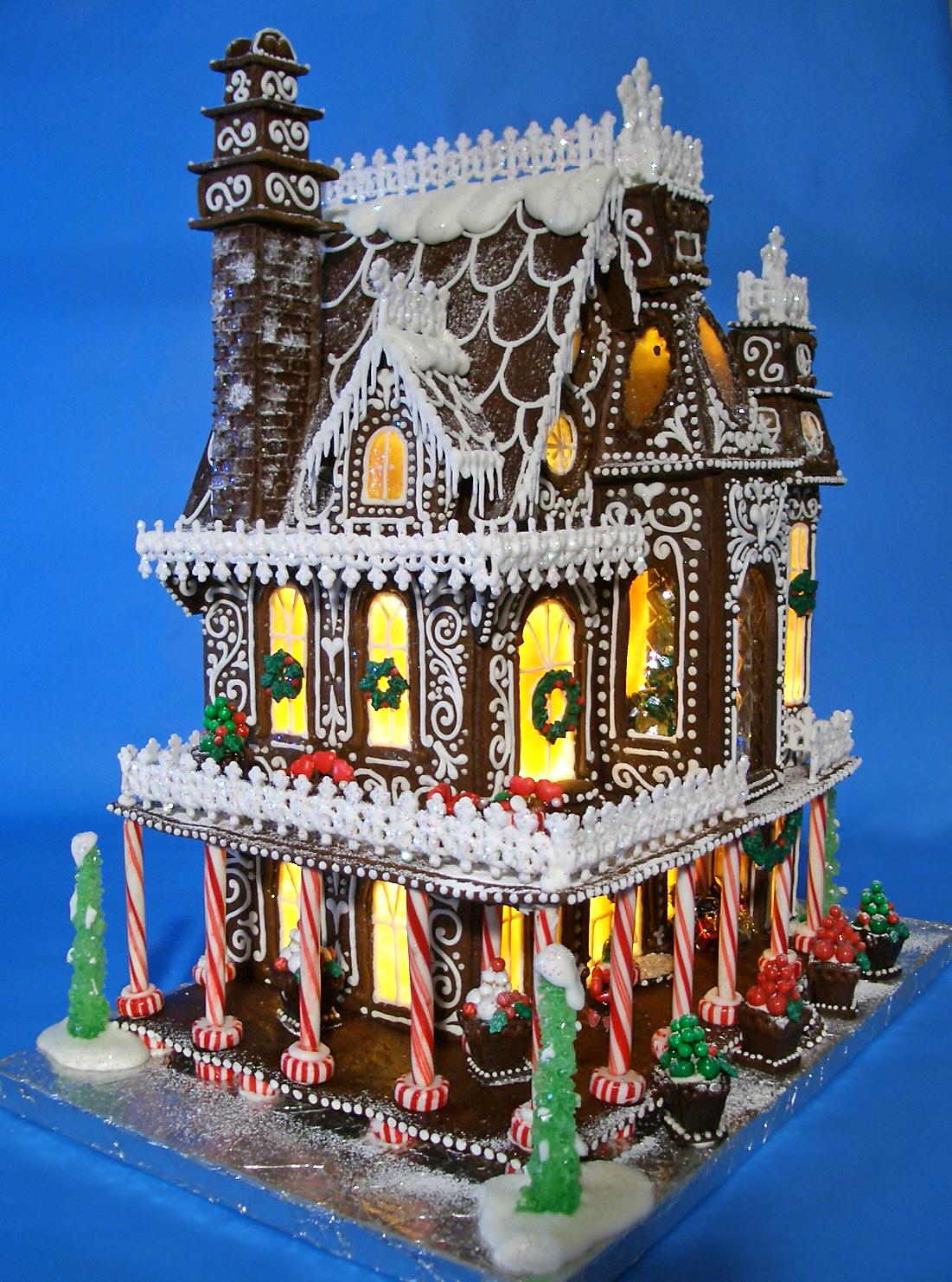 Gingerbread House 2014 - Goos By Anna on fudge box, ginger box, brownies box, cookie dough box, halloween box, gumbo box, rose box, church box, cupcake house box, biscotti box, pig roast box, candy box, text box, fireplace box, ornament box, icing box, panettone box, giveaway box, butterfly box, tiramisu box,